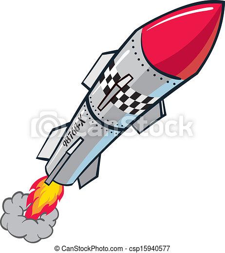 Rocket Missile - csp15940577