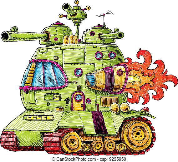 Rocket Tank - csp19235950