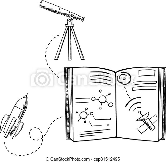 Drawing Of Astronomy