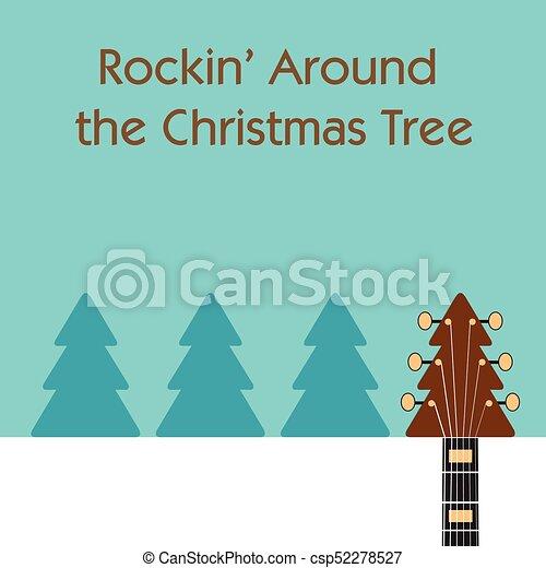 Rockin Around Christmas Tree.Rockin Around The Christmas Tree Guitar