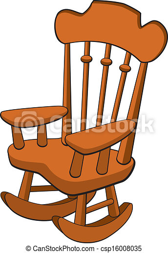 Rocking Chair Vector Illustration Of A Vectors