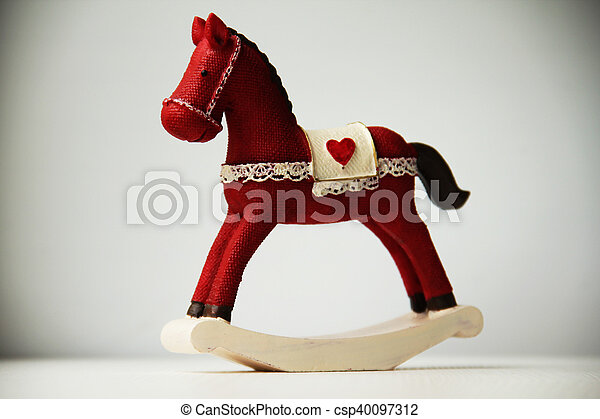 Rocking horse - csp40097312