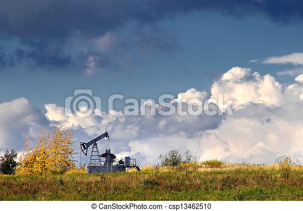 rocking oil - csp13462510
