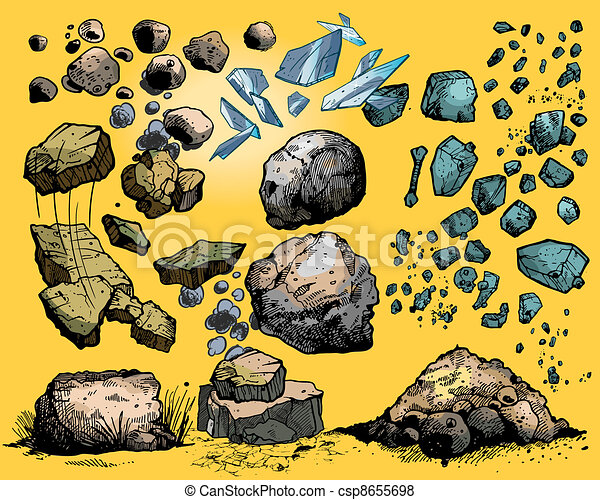 rocks and stones - csp8655698