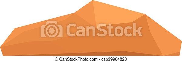 Rocks and stones vector illustration - csp39904820