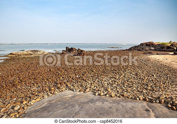Rocks by beach - csp8452016