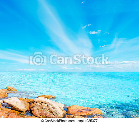 rocks in the blue - csp14935377