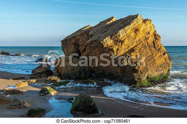 Rocks near the Black Sea coast - csp71080461