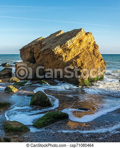Rocks near the Black Sea coast - csp71080464