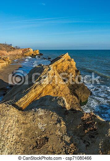 Rocks near the Black Sea coast - csp71080466