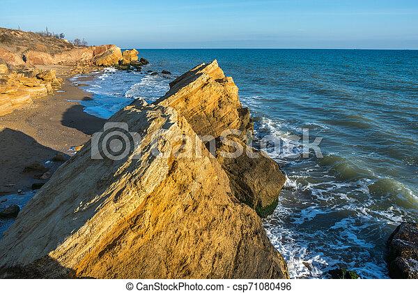 Rocks near the Black Sea coast - csp71080496