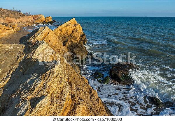 Rocks near the Black Sea coast - csp71080500