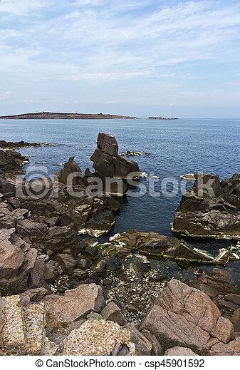 Rocks of the Black Sea - csp45901592