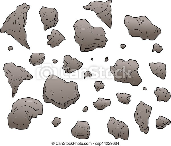 rocks vector illustration - csp44229684