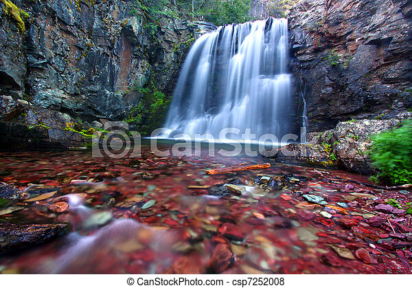 Rockwell Falls of Montana - csp7252008