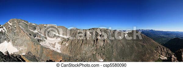 Rocky mountain panorama - csp5580090