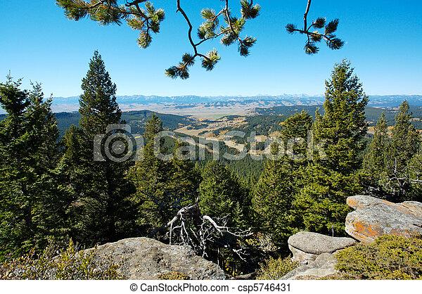 Rocky Mountains, Alberta, Canada - csp5746431