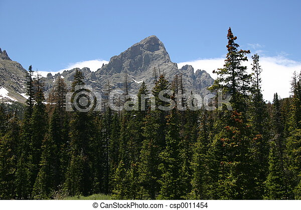 Rocky Mountains - csp0011454
