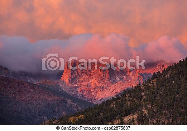 Rocky mountains - csp62875807
