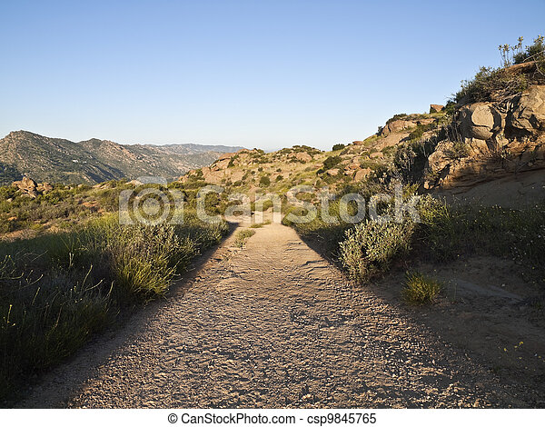 Rocky Peak Park Dirt Road - csp9845765
