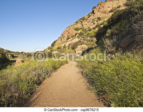 Rocky Peak Park near Los Angeles California - csp9676215