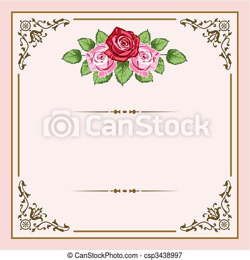 rocznik wina, róże - csp3438997