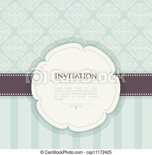rocznik wina, tło, zaproszenie - csp11172425