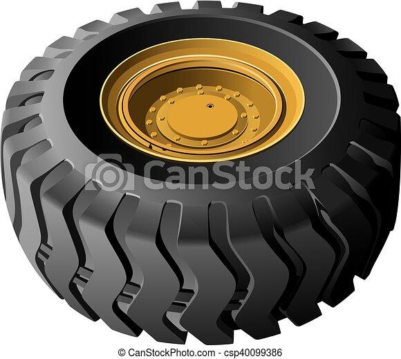 roda, engenharia, veículos - csp40099386