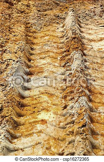 roda, trilhas, soil. - csp16272365