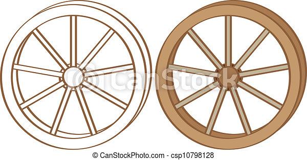 roda, vagão - csp10798128