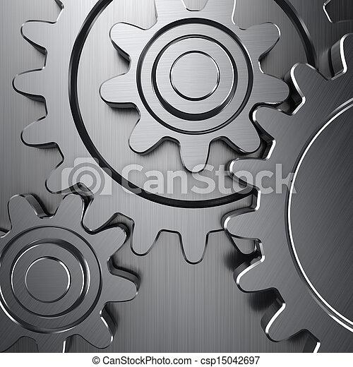 rodas, engrenagem - csp15042697
