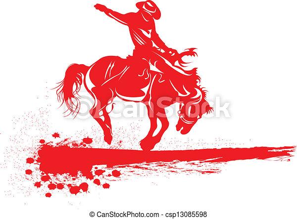 rodeo. - csp13085598