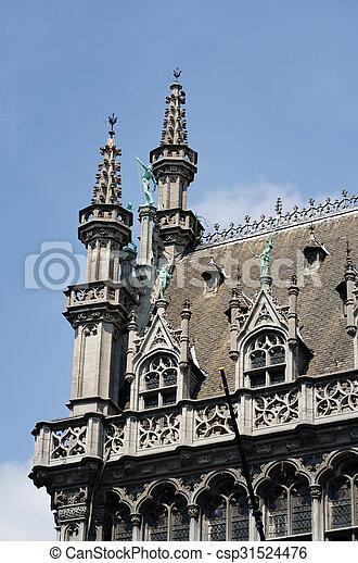 Destacamento de maison du roi en Bruselas - csp31524476