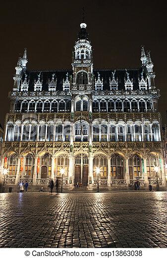 En gran lugar, Bruselas - csp13863038