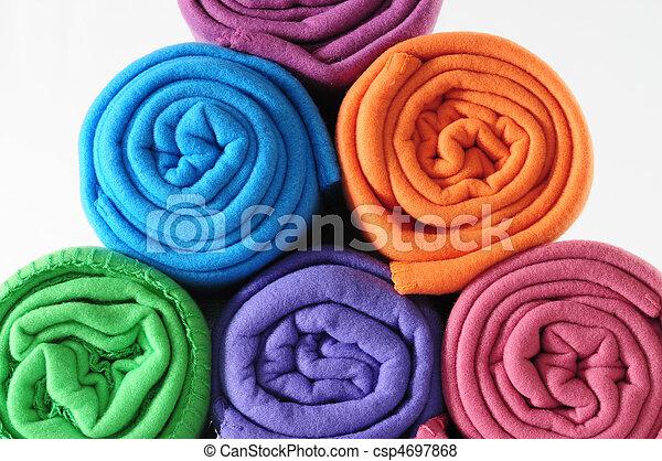 Roll coperta blankets colorito foto cerca for Piani di coperta 16x20