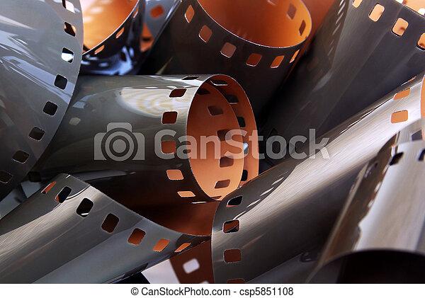 Roll of film - csp5851108