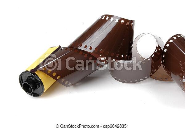 Roll of film - csp66428351