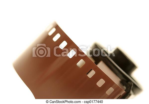 roll of film - csp0177440