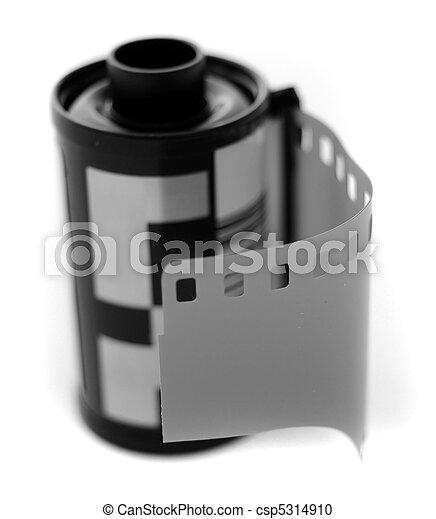 Roll of Film - csp5314910
