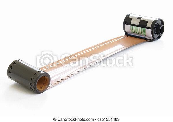 Roll of Film - csp1551483