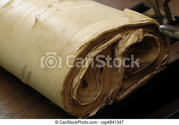 Roll of paper - csp4841347
