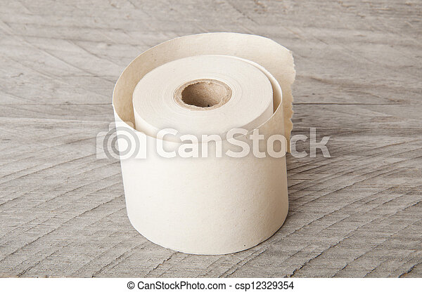 roll of paper - csp12329354