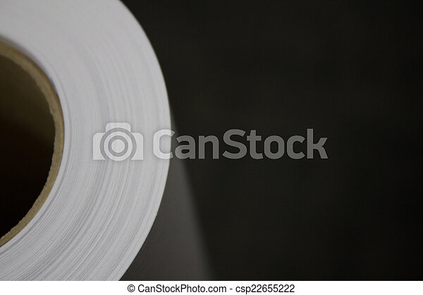 Roll Of Paper - csp22655222