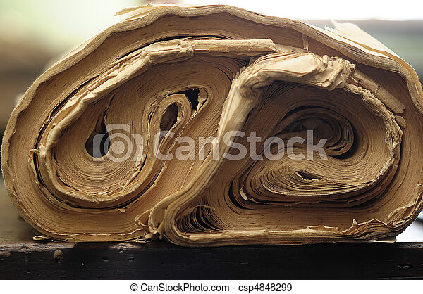 Roll of paper - csp4848299