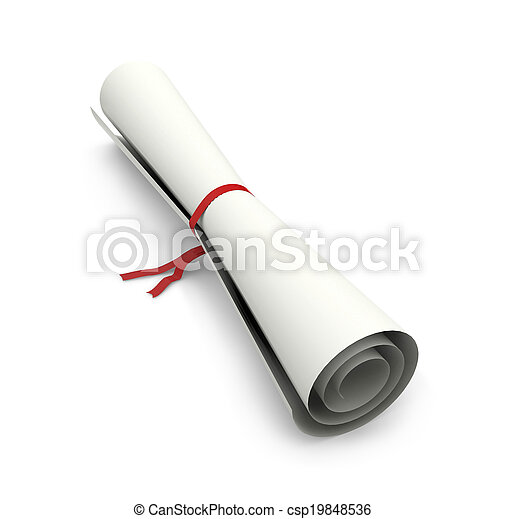 roll of paper - csp19848536