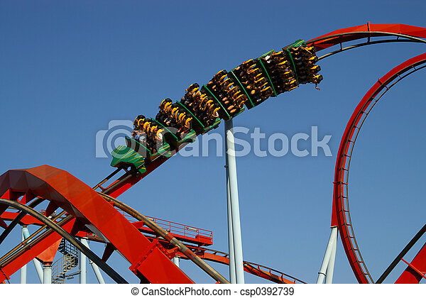 Rollecoaster ride - csp0392739