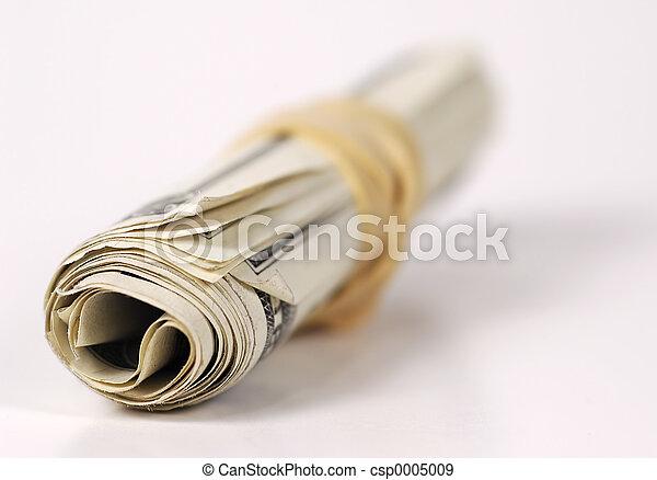 Rolled Up Money - csp0005009