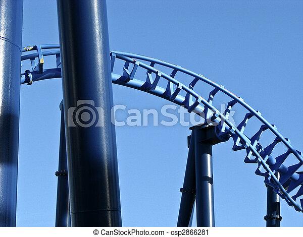 Roller coaster construction   - csp2866281