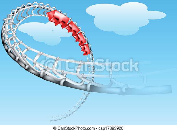 roller-coaster - csp17393920