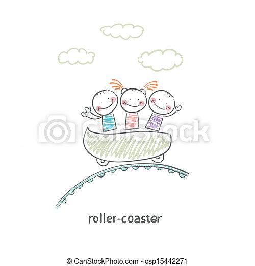 roller-coaster - csp15442271